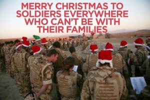 merry christmas to our men and women