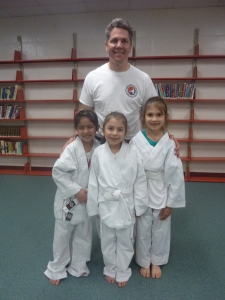Mr. Rocco Lombardo with Isabelle, Maryelle and Klara